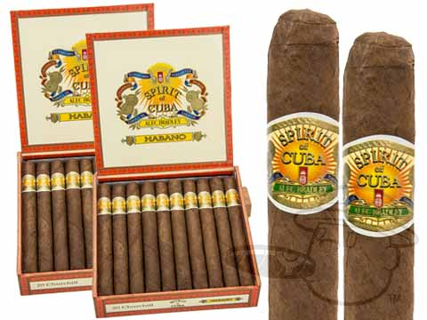 SPIRIT OF CUBA CHURCHILL HABANO - BY ALEC BRADLEY 2X Deal 2X Deal 40 Total Cigars