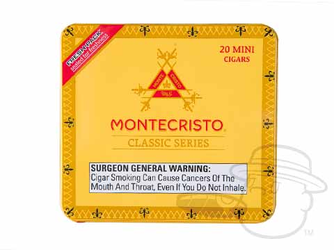 Montecristo Mini Classic Collection Tins Tin - 20 Total Cigars