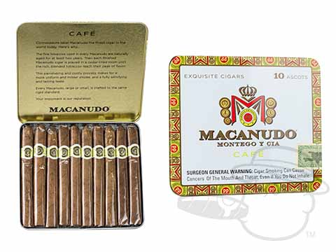 Macanudo Ascot Cafe Tin of 10