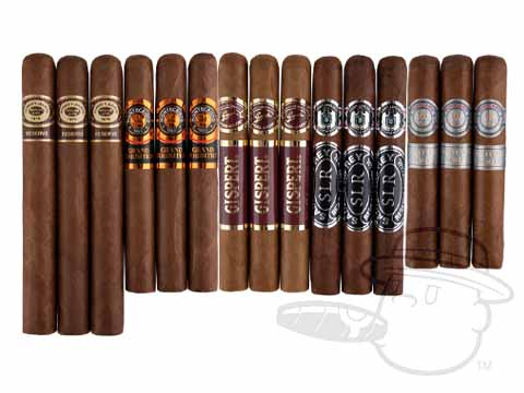 Big Action Top-Rated 15-Cigar Variety Pack Deal Variety Pack Deal