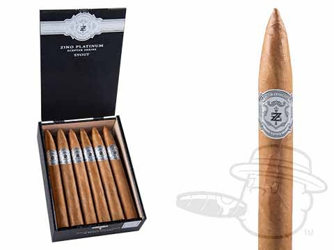 Zino Platinum Scepter Stout Box - 12 Total Cigars