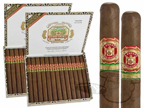 ARTURO FUENTE CHURCHILL NATURAL 2X Deal 2X Deal   50 Total Cigars