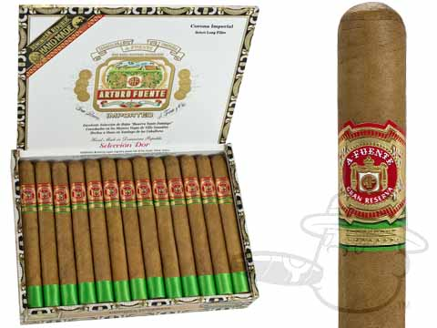 Arturo Fuente Corona Imperials Seleccion D'Or Natural Shade Grown Box of 25