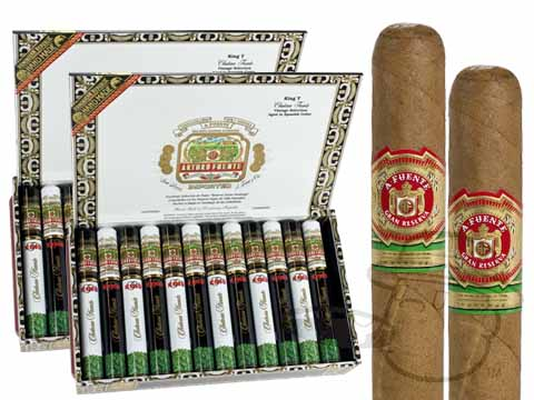 ARTURO FUENTE KING T TUBOS 2X Deal 2X Deal   48 Total Cigars