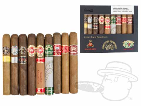 Altadis Iconic Brand Sampler Box of 9