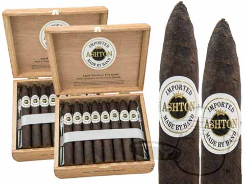 Ashton Aged Maduro Pyramid 2 Box Deal 2-Fer (2 Boxes)  50 Total Cigars