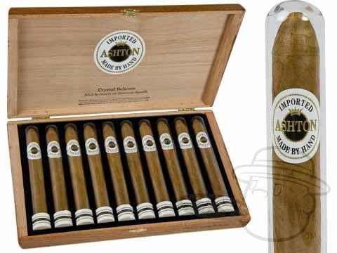 Ashton Classic Crystal Belicoso Box - 10 Total Cigars