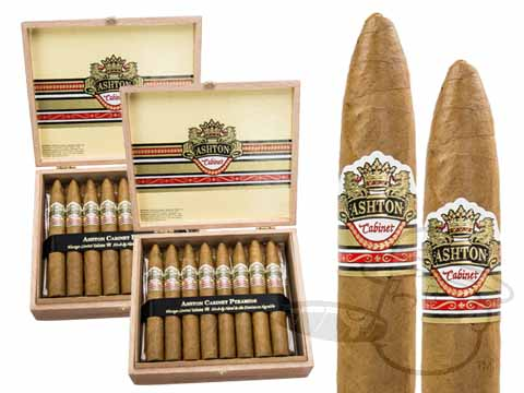 Ashton Cabinet Pyramid 2x Deal 2X Deal - 50 Total Cigars Cigars