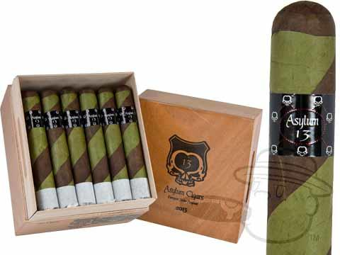 The Ogre 70 X 7 By Asylum Box - 30 Total Cigars