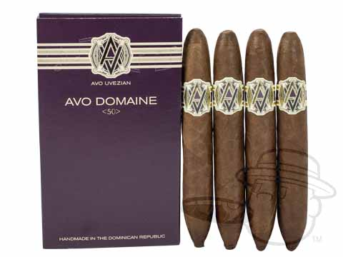 AVO Domaine 50 Sealed Pack - 4 Total Cigars