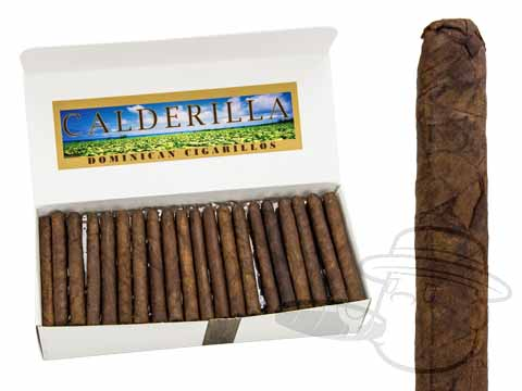 Calderilla Dominican Cigarillos Maduro Box of 100