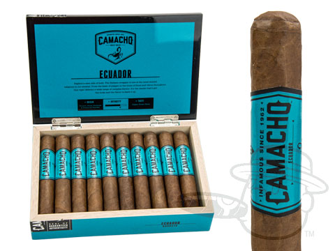 Camacho Ecuador Robusto Box - 20 Total Cigars