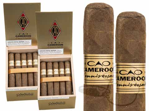 CAO L'Anniversaire Cameroon Toro 2 Box Deal 2-Fer (2 Boxes)  40 Total Cigars