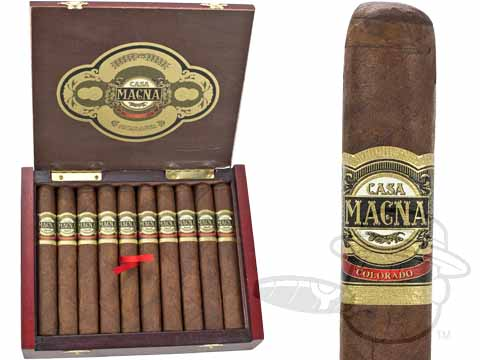 Casa Magna Colorado Toro Box Pressed by Quesada Cigars