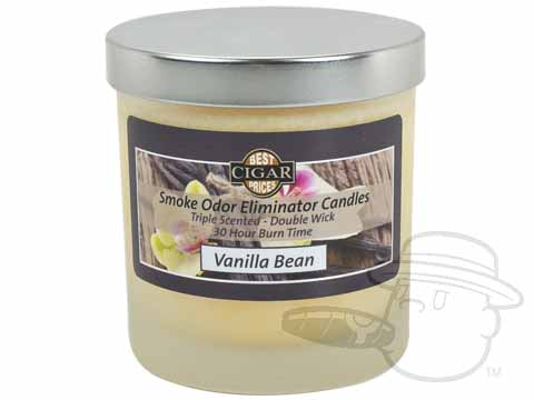 Bcp Smoke Odor Eliminator Candle - Vanilla Scented 30 Hour Burn Time