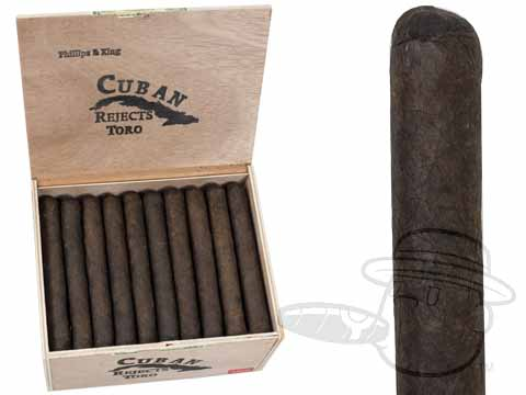 Cuban Rejects Toro Maduro  Box - 50 Total Cigars