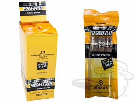 Cuban Rounds Churchill Natural Fresh Pack