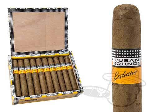 Cuban Rounds Exclusivo Robusto Natural