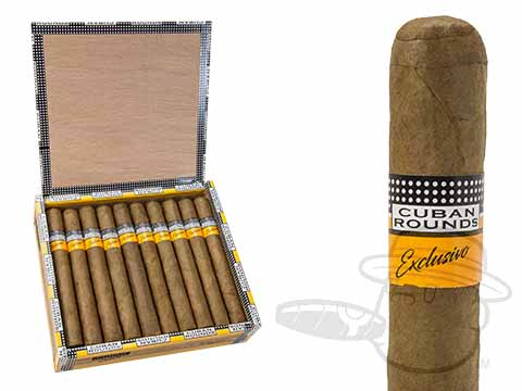 Cuban Rounds Exclusivo Toro Natural Box - 20 Total Cigars