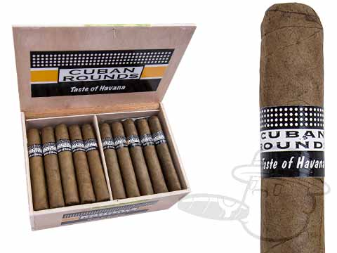 Cuban Rounds Robusto Natural