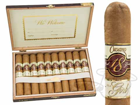 Cusano 18 It's a Girl Robusto Box of 10