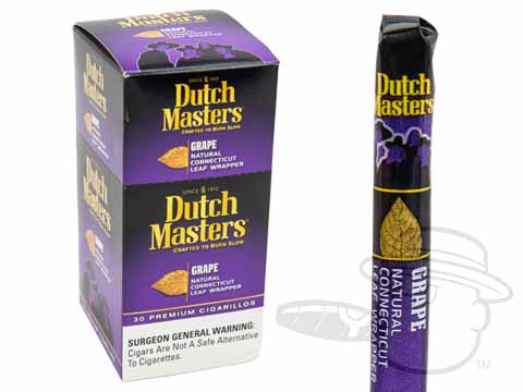 Dutch Masters Cigarillos Grape Upright