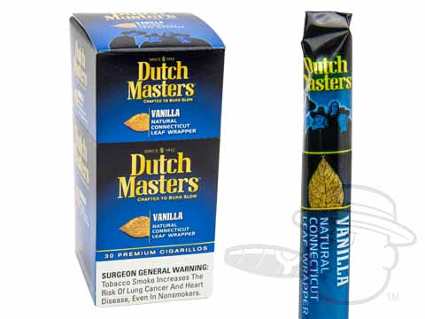 Dutch Masters Cigarillos Vanilla Upright