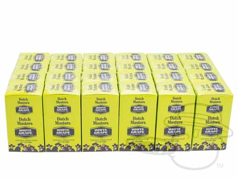Dutch Masters Cigarillos White Grape Upright - Case of 720 Case of 720