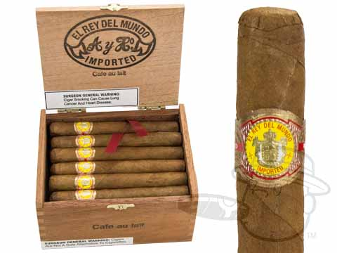 El Rey Del Mundo Cafe Au Lait Box of 24