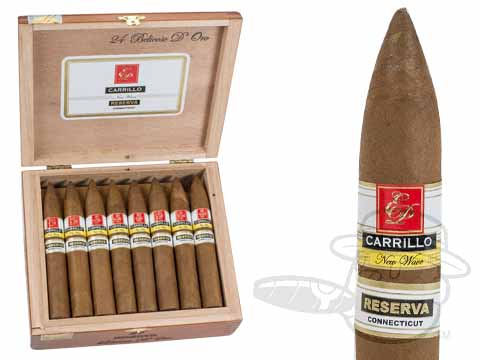 E.P. Carrillo New Wave Reserva Belicoso D'Oro Box of 24