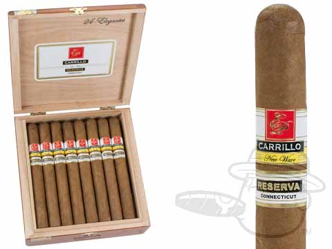 E.P. Carrillo New Wave Reserva Elegantes Box of 24