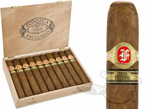 Fonseca Cubana Exclusivo Gordo by Quesada Cigars Box of 20