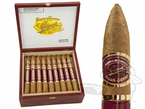 Gispert Belicoso Box - 25 Total Cigars