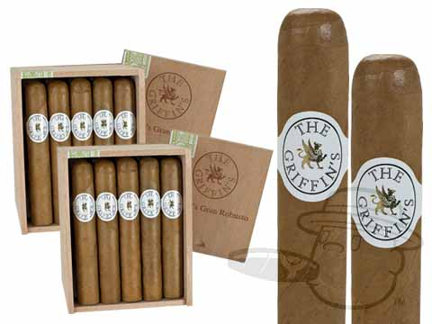 GRIFFIN'S GRAN ROBUSTO 2X Deal 2X Deal    50 Total Cigars