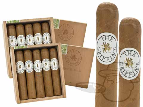 Griffin'S Short Robusto 2x Deal 2 Box Deal - 50 Total Cigars