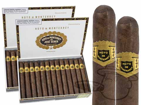Hoyo De Monterrey Governors Maduro 2 Box Deal 2-Fer (2 Boxes)  50 Total Cigars