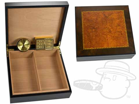 Cavalier 25 Count Humidor by Craftsman's Bench