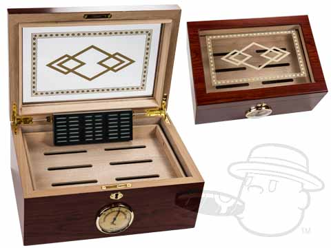 Bally II 100 Count Humidor By Orleans