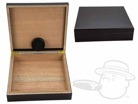 Black 15 Count Humidor By Orleans