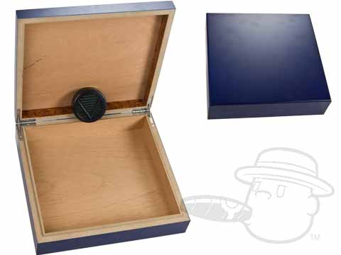 Blue 15 Count Humidor by Orleans