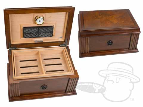 Amalfi 50 Count Humidor By Quality