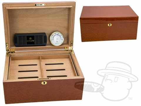 Beetlewood 75 Count Humidor By Savoy