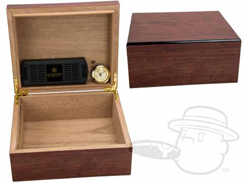 Bubinga 25 Count Humidor By Savoy