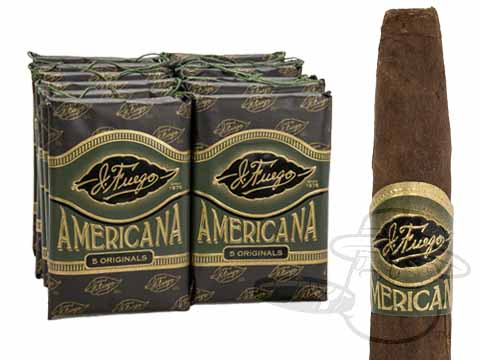 J. Fuego Americana Originals Small Packs: 60 Cigarillos