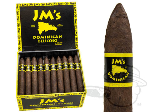 JM's Dominican Belicoso Maduro Box - 50 Total Cigars