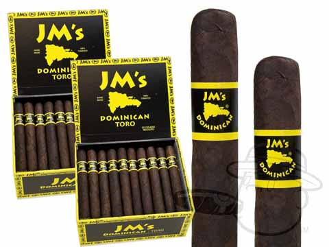 JMs Dominican Toro Maduro 2 Box Deal 2-Fer  100 Total  Cigars