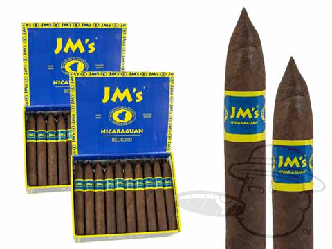 JMs Nicaraguan Belicoso Maduro 2 Box Deal 2-Fer  100 Total  Cigars