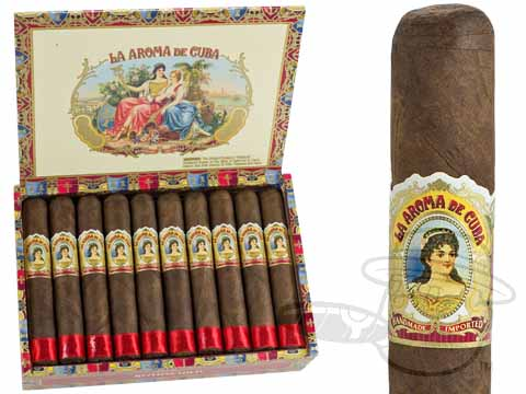 La Aroma De Cuba Rothschild Box - 20 Total Cigars