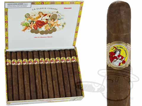 La Gloria Cubana Churchill Natural Box of 25