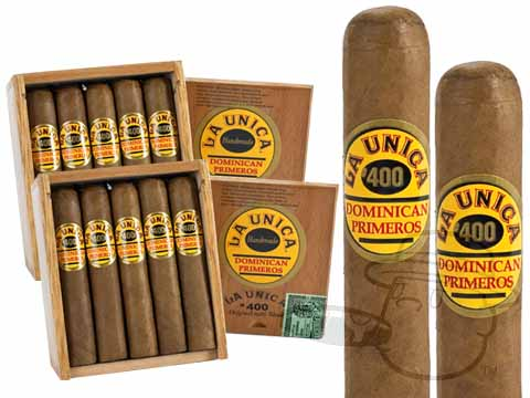 LA UNICA #400 NATURAL 2X Deal 2X Deal 40 Total Cigars